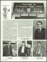 1986 St. Francis High School Yearbook Page 38 & 39