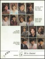 1986 St. Francis High School Yearbook Page 128 & 129