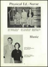 1955 Coudersport High School Yearbook Page 16 & 17