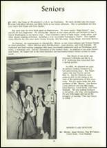 1955 Coudersport High School Yearbook Page 20 & 21
