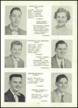 1955 Coudersport High School Yearbook Page 24 & 25