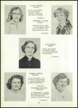 1955 Coudersport High School Yearbook Page 28 & 29