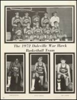 1972 Daleville High School Yearbook Page 140 & 141