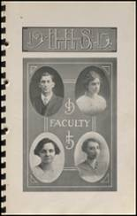 1915 Hennessey High School Yearbook Page 10 & 11