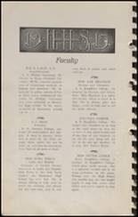 1915 Hennessey High School Yearbook Page 12 & 13