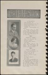 1915 Hennessey High School Yearbook Page 14 & 15
