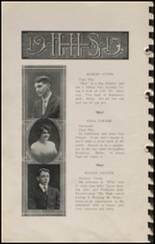 1915 Hennessey High School Yearbook Page 16 & 17