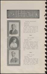 1915 Hennessey High School Yearbook Page 18 & 19