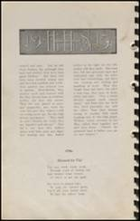 1915 Hennessey High School Yearbook Page 20 & 21