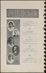 1915 Hennessey High School Yearbook Page 24 & 25