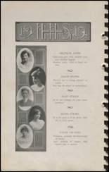 1915 Hennessey High School Yearbook Page 26 & 27