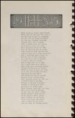 1915 Hennessey High School Yearbook Page 32 & 33