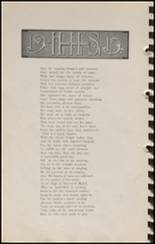 1915 Hennessey High School Yearbook Page 34 & 35
