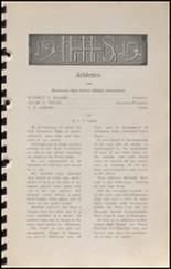 1915 Hennessey High School Yearbook Page 50 & 51