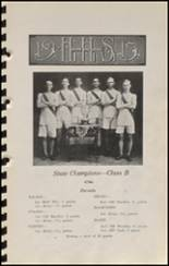 1915 Hennessey High School Yearbook Page 56 & 57