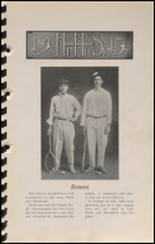 1915 Hennessey High School Yearbook Page 62 & 63