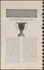 1915 Hennessey High School Yearbook Page 66 & 67