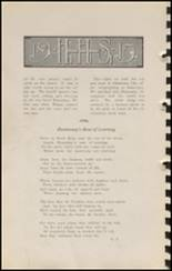1915 Hennessey High School Yearbook Page 70 & 71
