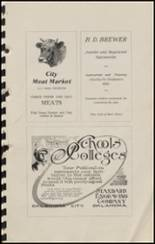 1915 Hennessey High School Yearbook Page 98 & 99