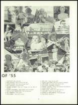 1955 Queen Anne High School Yearbook Page 14 & 15