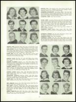 1955 Queen Anne High School Yearbook Page 22 & 23