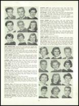 1955 Queen Anne High School Yearbook Page 28 & 29