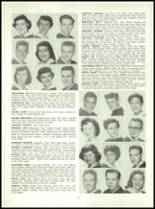 1955 Queen Anne High School Yearbook Page 30 & 31