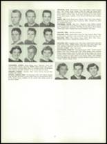 1955 Queen Anne High School Yearbook Page 36 & 37