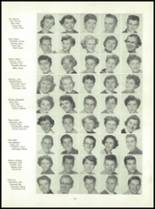 1955 Queen Anne High School Yearbook Page 38 & 39