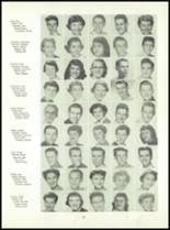 1955 Queen Anne High School Yearbook Page 42 & 43