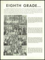 1955 Queen Anne High School Yearbook Page 56 & 57