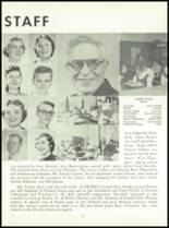 1955 Queen Anne High School Yearbook Page 70 & 71