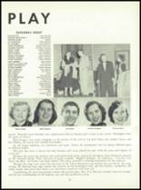 1955 Queen Anne High School Yearbook Page 74 & 75