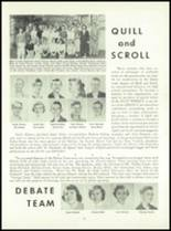 1955 Queen Anne High School Yearbook Page 88 & 89