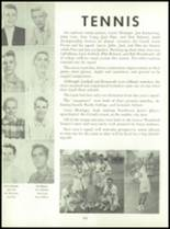 1955 Queen Anne High School Yearbook Page 108 & 109