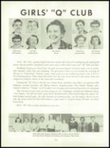 1955 Queen Anne High School Yearbook Page 114 & 115