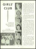 1955 Queen Anne High School Yearbook Page 122 & 123