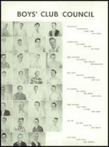 1955 Queen Anne High School Yearbook Page 126 & 127