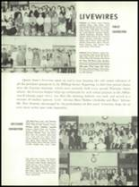 1955 Queen Anne High School Yearbook Page 128 & 129