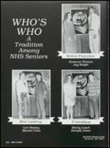1993 Newkirk High School Yearbook Page 106 & 107