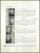1934 Peekskill Military Academy Yearbook Page 20 & 21