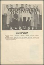 1952 Glenwood City High School Yearbook Page 10 & 11