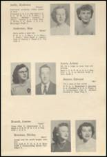 1952 Glenwood City High School Yearbook Page 14 & 15