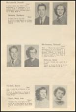 1952 Glenwood City High School Yearbook Page 18 & 19