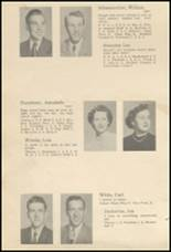 1952 Glenwood City High School Yearbook Page 20 & 21