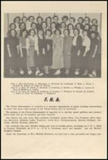 1952 Glenwood City High School Yearbook Page 42 & 43