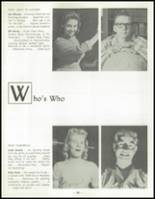 1958 Las Vegas High School Yearbook Page 42 & 43