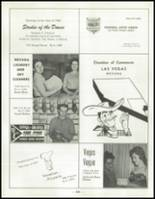 1958 Las Vegas High School Yearbook Page 262 & 263