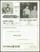 1958 Las Vegas High School Yearbook Page 266 & 267