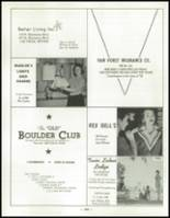 1958 Las Vegas High School Yearbook Page 268 & 269